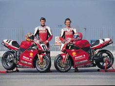 Things Ducati, old & new! Send me your Ducati photos, links, etc along with a description. (I'll always include a bit of Aryton Senna and Mike Hailwood too! Ducati Motorbike, Ducati 996, Ducati Superbike, Moto Ducati, Motorcycle Bike, Motogp, Racing Motorcycles, Bmx Bikes, Sport Bikes