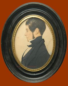 Antique Portraits & Antique Portrait Miniatures - Peggy McClard Antiques