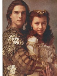 "Tom Cruise and Mia Sara portray the characters of Jack and Lily respectively in the movie ""Legend""......."