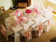 Dress up Tea Party Birthday Party. LundynBridge Events