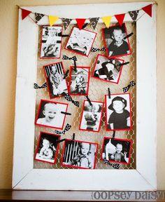 子供の写真を可愛く壁にハンギング♪オリジナルフォトフレームの作り方!   CRASIA(クラシア)