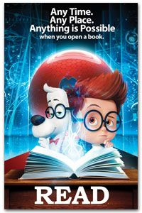 A 2014 poster for Mr. Peabody & Sherman