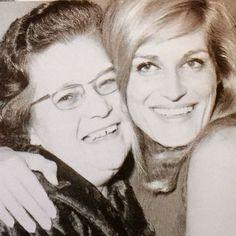 Dalida et sa maman