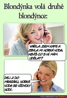 Blondýnka volá druhé blondýnce: Funny Images, Funny Pictures, Tiny Tiny, Motto, Funny Texts, The Funny, Jokes, Lol, Random