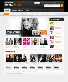 Template 36052 - Digital Store Magento  Theme
