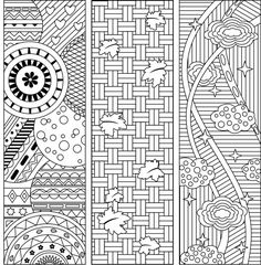 8 Coloring Bookmarks, Four with quotes and four abstract pattern designs Colouring Pages, Printable Coloring Pages, Adult Coloring Pages, Coloring Sheets, Coloring Books, Color Art Lessons, Free Printable Bookmarks, Pattern Designs, Patterns