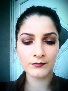 Easy autumn make-up
