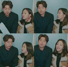 Goblin :The Lonely and Great God \Episode 12\Goblin and Ji Eun Tak
