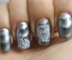 Silver nail colors sally hansen Magnetic Nail Polish Nail Art Gallery
