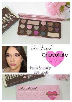 Purple Smoky Eye Look / Too Faced Chocolate Bon Bons