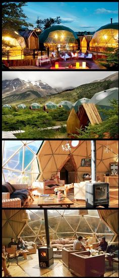 Eco Camp : Hotel Mesra Alam Di Patagonia Chile
