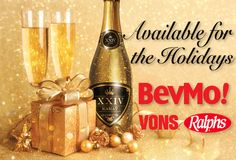 Add a little extra sparkle to the Holidays this year! Available at Bevmo! and other major retail partners!