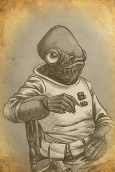 Admiral Ackbar by ~nguy0699 on deviantART