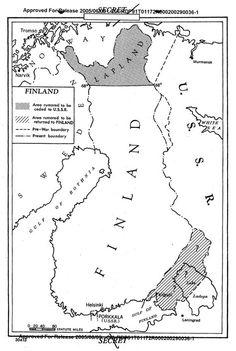 Kuvakaappaus CIA:n salaisesta asiakirjasta. Narvik, Falling Skies, Tromso, Red Army, Historical Maps, Helsinki, Geography, Nostalgia, How To Plan