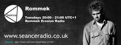 Tune in to Rommek on Seance Radio Tuesday 20:00 UTC+1 for the Erosion Radio Show #Techno