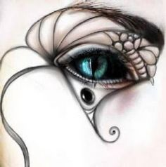Want to try this with a costuming idea I have.  Lines are not going to be hard but the eye part, probably going to need to get scleral and custom ugh.
