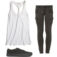 Untitled #119 by pao-xox on Polyvore featuring polyvore fashion style True Religion Liebeskind Vans