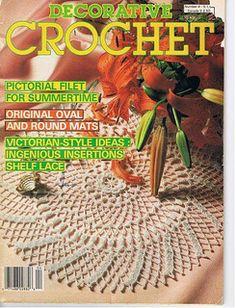 Ravelry: Decorative Crochet Magazine, July 1988, #4