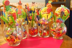 Candy Bouquets Made for Dance Recital theme of How Sweet it is!