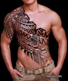 polynesian+tribal+tattoo+sleeve+(2).jpg (338×400)