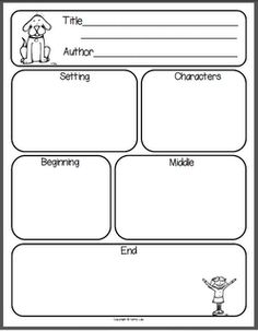 Story elements graphic organizer has been used (in different formats) within our reading and writing instruction to help the students organize their ideas.
