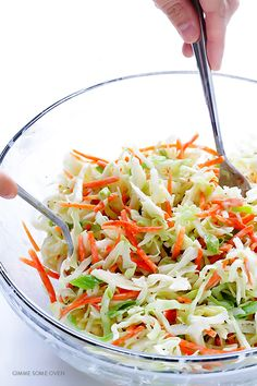 Greek Yogurt Coleslaw | Gimme Some Oven