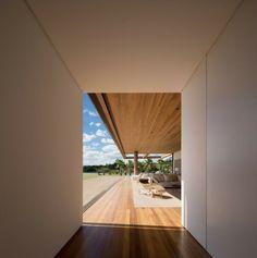 Flur Gestaltung Haus Brazilien exotische Destination