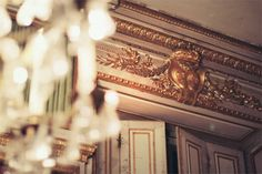 {this is glamorous} : adventures in love, design, fashion, home decor, food and travel: {travel inspiration: versailles la nuit} Versailles, Cherry Blossom Girl, Travel Inspiration, Design Inspiration, Gold Interior, Interior Design, Beauty Spa, Luxury Decor, Eclectic Style
