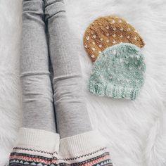 Flurries Hat Free Knitting Pattern