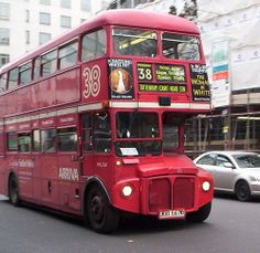 Routemaster on the 38