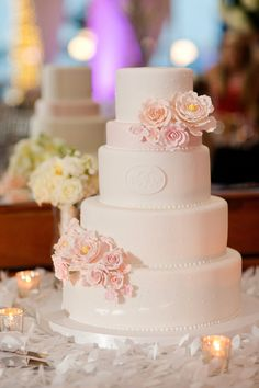 Brides: An Elegant Plum Wedding in Washington, D.C.