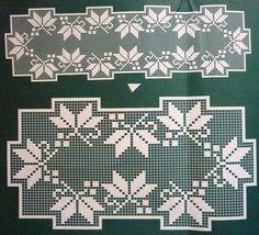 crochet em revista Crochet Tablecloth, Crochet Doilies, Knit Crochet, Filet Crochet Charts, Knitting Charts, Crochet Designs, Crochet Patterns, Swedish Weaving, Beading Patterns