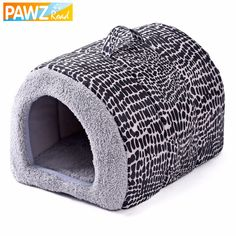 2017 New Fashion 2 Color Leopard Easy to Carry Pet Bed Lovely Cats House Dog Kennel Cozy Mat Soft Dog Bed Goods for Pets #Affiliate