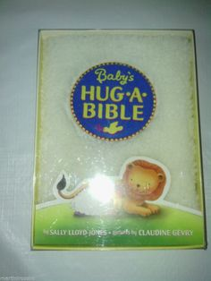 Babys hug a bible book boys girls gifts New in Box