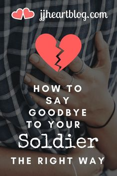"""It's never an easy thing.but today I'm sharing 6 special considerations. Stop by to learn how to say goodbye to your soldier the """"right"""" way. Military Girlfriend Marine, Army Mom, Military Love, Army Life, Military Spouse, Marine Life, Us Army Basic Training, Military Relationships, Distance Relationships"""