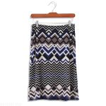 Outfit for Work   This patterned skirt would look nice for the office with a blue blouse and black tights.    My Day In Stitch Fix – Pin to Win Contest #MyDayInStitchFix