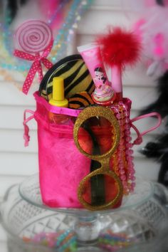 "Order Custom Fabby-Fancy Favor Bags (215)939-0233  ""Exclusive Celebrations : Uniquely Fabby ... for GIRLS!""  www.FabbyShabby.com"