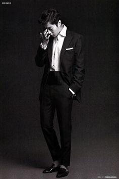 BEAST's Doojoon // Arena Homme Plus Korea // July 2013