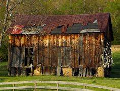 Weathered and Rustic barn