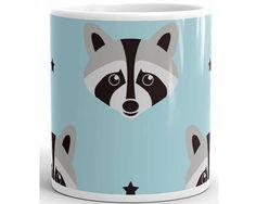 He likes raccoons and tea.