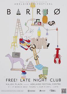 Adelaide Festival Barrio Illustration