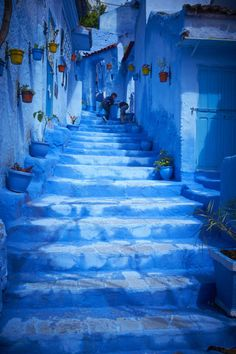 Chefchaouen Morocco is the stuff of dreams — but it's real.