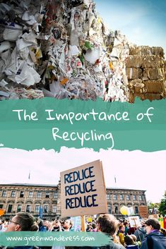 The Importance of Recycling - Refuse, Reduce, Reuse, Recycle. Our planet is not. Importance Of Recycling, Aluminum Uses, Types Of Plastics, Recycling Center, Reduce Reuse Recycle, Our Planet, National Geographic, Sustainability, Mount Rushmore