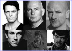 Outlander cast so far... I love the physical similarities between Jamie, Column and Dougal !!!