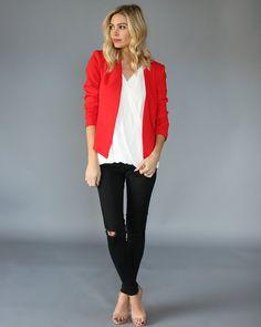 Roja 78 Chaqueta Imágenes Mejores Fashion De Y Jackets Clothes w7qPUZI7