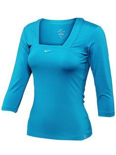 Nike Tennis 3/4 top