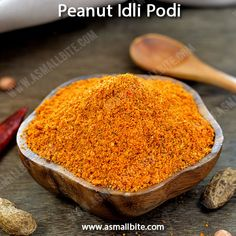 Verkadalai Podi Recipe / Groundnut Idli Podi Recipe is protein rich and goes very well with idli / dosa and taste good with plain rice with a drop of ghee.
