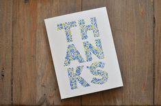 Thanks  6 Letterpress Cards  Box Set by WednesdayPress on Etsy, $16.00