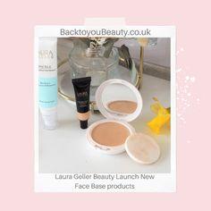 Laura Geller Beauty launch new Base Products - Mattifying Primer, Compact Foundation, Under Eye Concealer, Primrose Oil, Eyeshadow Primer, Creative Colour, Laura Geller, Sunflower Oil, Of Brand
