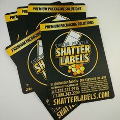 Custom Dab Mats by Shatter Labels